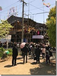 興泉寺 上棟式 (11)