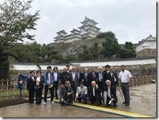 講演会、姫路城見学 (2)