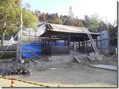 破磐神社神殿修理工事 (2)