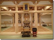 興泉寺内部工事完成 (2)