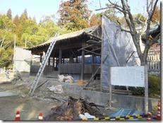 破磐神社神殿修理工事 (3)