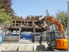 破磐神社神殿修理工事 (4)