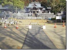 破磐神社神殿修理工事 (5)