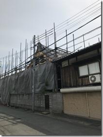 芳蓮寺本堂改修工事 (2)