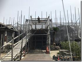 芳蓮寺本堂改修工事 (3)