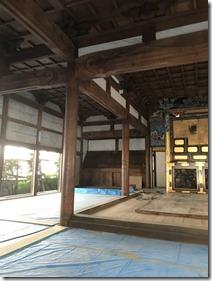 芳蓮寺本堂改修工事 (4)