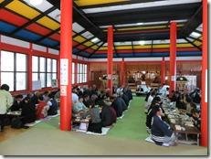 龍田大社 大嘗祭 神楽殿上棟祭 (10)