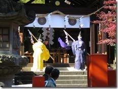 龍田大社 大嘗祭 神楽殿上棟祭 (6)