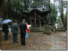 下蒲田 大歳神社 本殿改修工事 安全祈願祭 (4)
