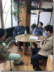 大相撲峰崎部屋 「峰雲」来店 (1)