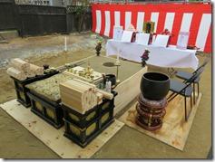 不動寺 護摩堂重建工事 地鎮式〈西宮市〉 (2)