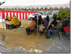 不動寺 護摩堂重建工事 地鎮式〈西宮市〉 (3)