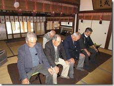 英賀神社幣殿改修工事 安全祈願祭 (5)