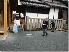 英賀神社幣殿改修工事 安全祈願祭 (1)
