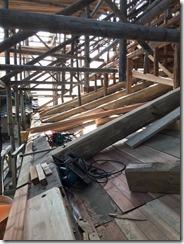 満願寺本堂修復工事 (2)