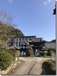 満願寺本堂修復工事 (6)