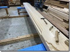 s不動寺 護摩堂重建工事 木工事、基礎工事〈西宮〉 (11)