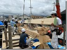 不動寺 護摩堂重建工事 建方〈西宮市〉 (11)