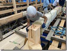 不動寺 護摩堂重建工事 建方〈西宮市〉 (10)