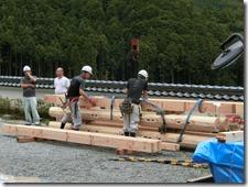報恩寺 十六善神堂重建工事 建方〈神崎郡〉 (2)