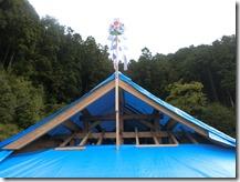 s報恩寺 十六善神堂重建工事 上棟式 (2)