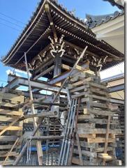 専称寺鐘楼堂修復工事〈赤穂郡〉 (1)